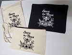 Save the Bees Clutch or Shoulder Tote