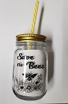 Mason Jar - Save the Bees
