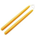 Solid Beeswax Taper Candles