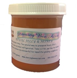 Royal Jelly in Raw Honey Base