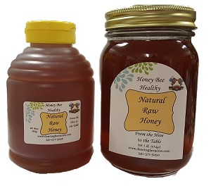 1lb Raw Honey